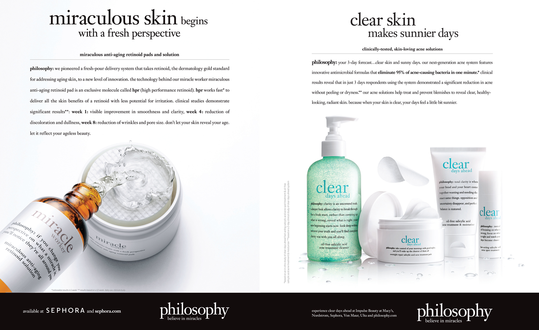 Philosophy cosmetics 1